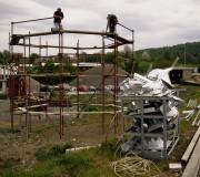 Priprema skele za izradu cilindra